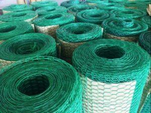 lưới lục giác bọc nhựa