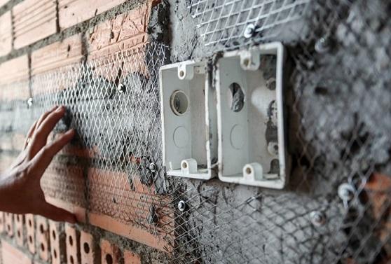 lưới trát tường