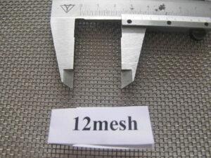 lưới inox 12 mesh
