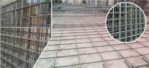 lưới thép hàn làm sàn đổ bê tông
