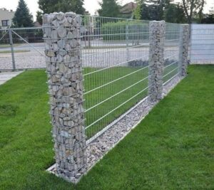 lưới inox làm hàng rào tuyệt đẹp