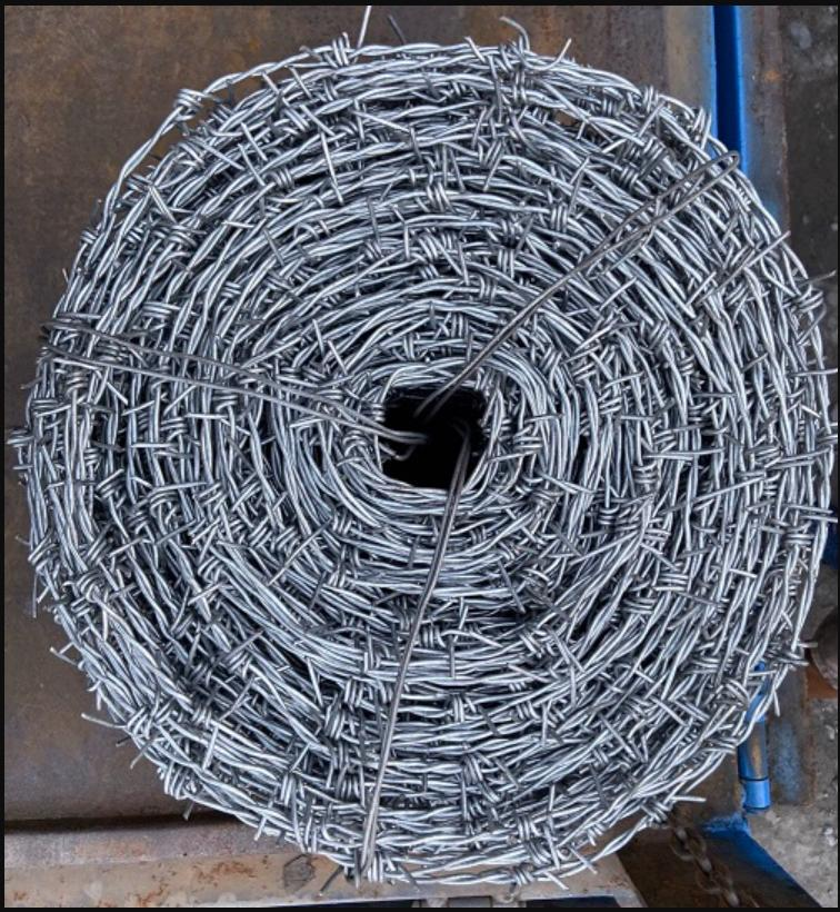 Lưới kẽm gai dạng xoắn