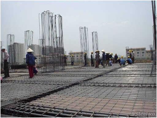 Lưới thép hàn trong xây dựng
